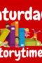 Saturday Storytime – October 26th at 11:00